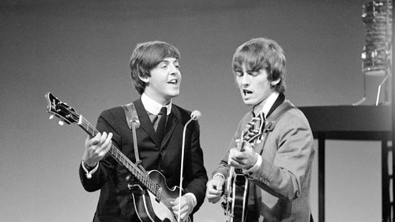 Paul McCartney, George Harrison © VARA / CC-BY-SA 3.0 Netherlands