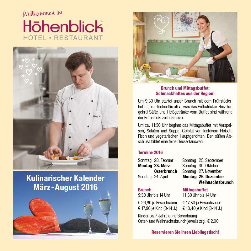 HotelHoehenblick_KulinarischerKalender