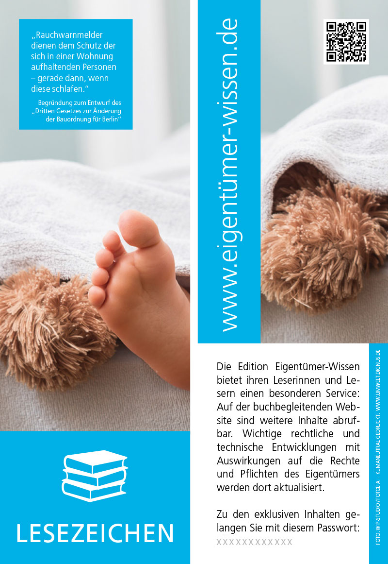 Edition Eigentümer-Wissen 01 Lesezeichen