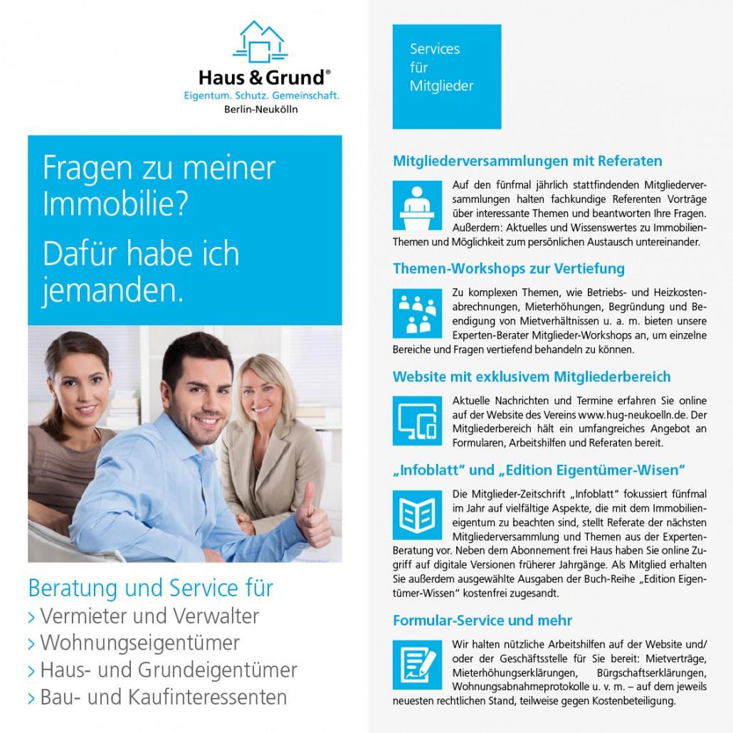 Haus & Grund Berlin-Neukölln Flyer