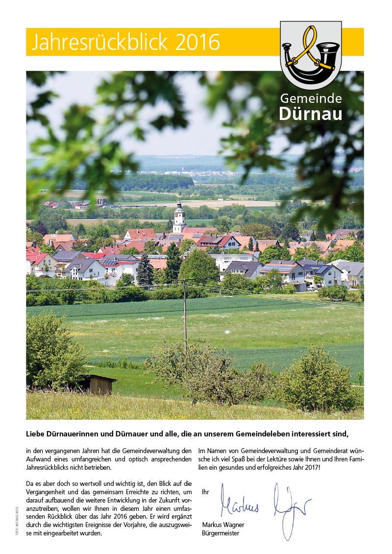 Dürnau Jahresrückblick 2016