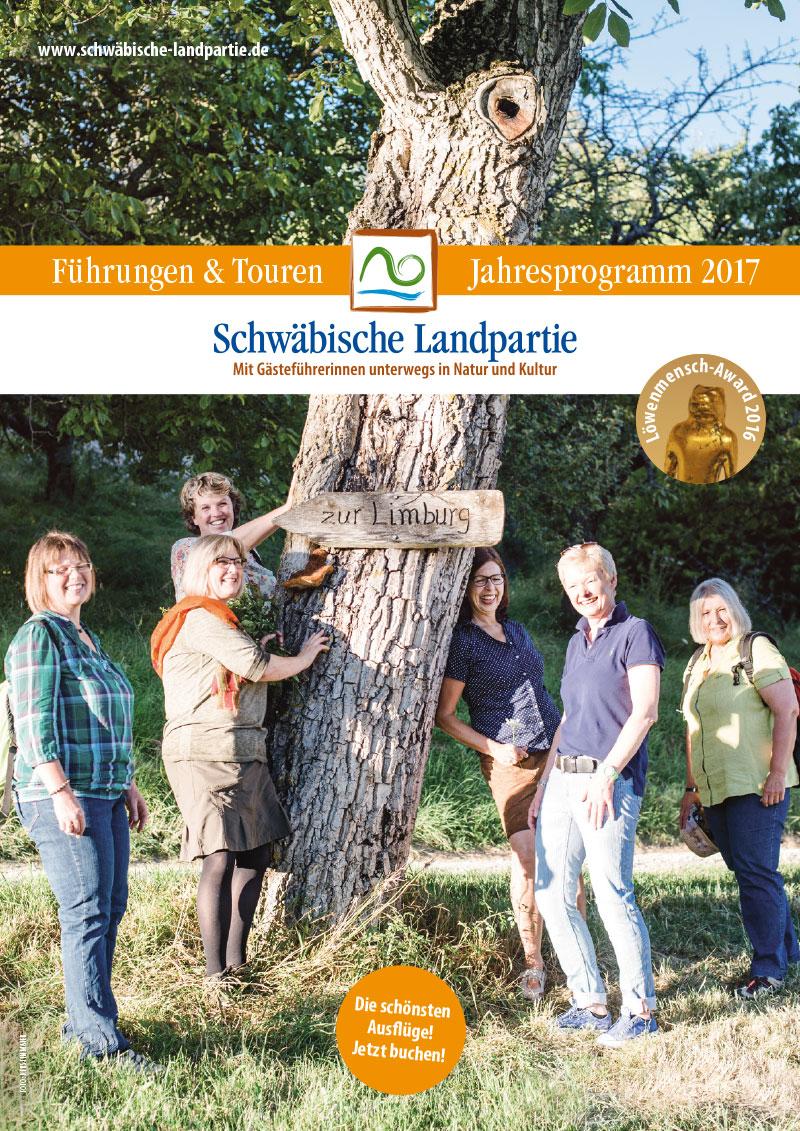 Schwäbische Landpartie Katalog 2017
