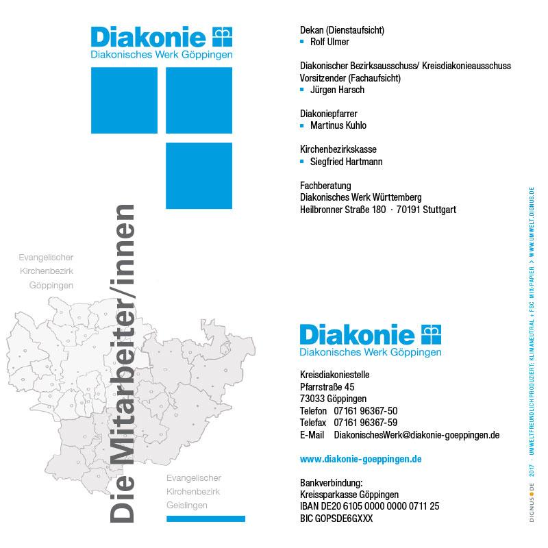 Diakonisches Werk Göppingen 2017 Mitarbeiter/innen