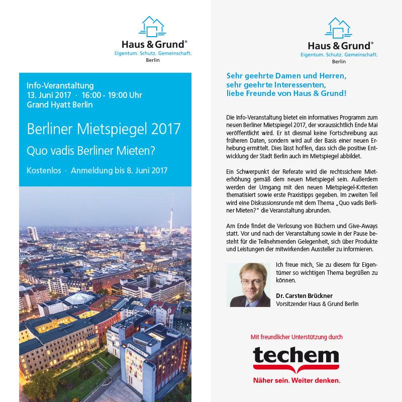 Info-Veranstaltung Mietspiegel 2017