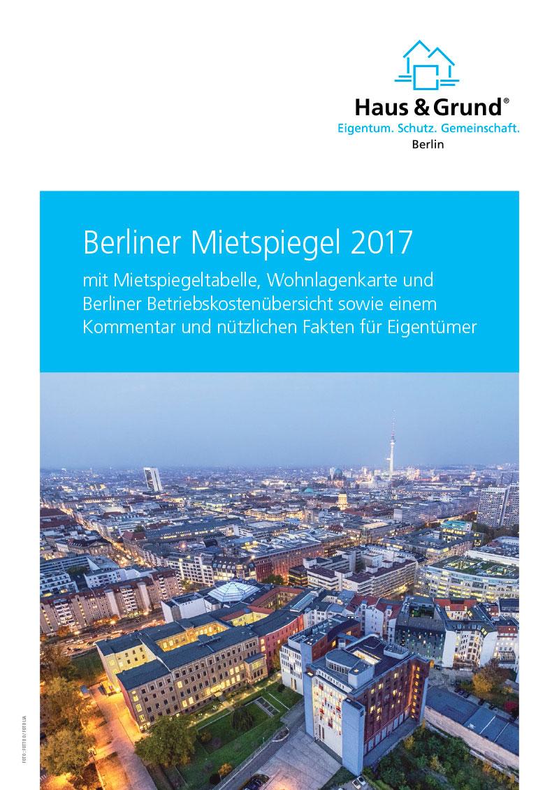 Berliner Mietspiegel 2017