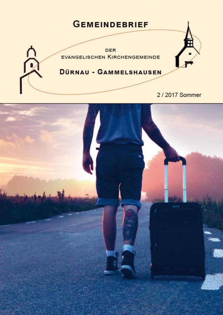 Gemeindebrief 2017-2 Dürnau-Gammelshausen