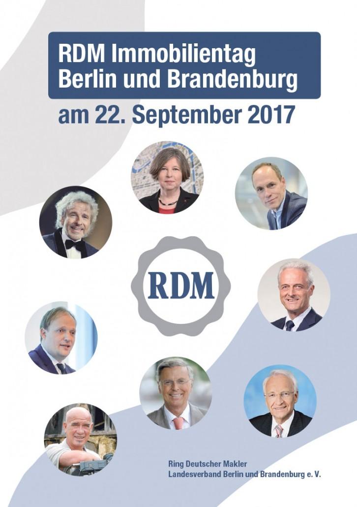 RDM Immobilientag 2017 Broschüre
