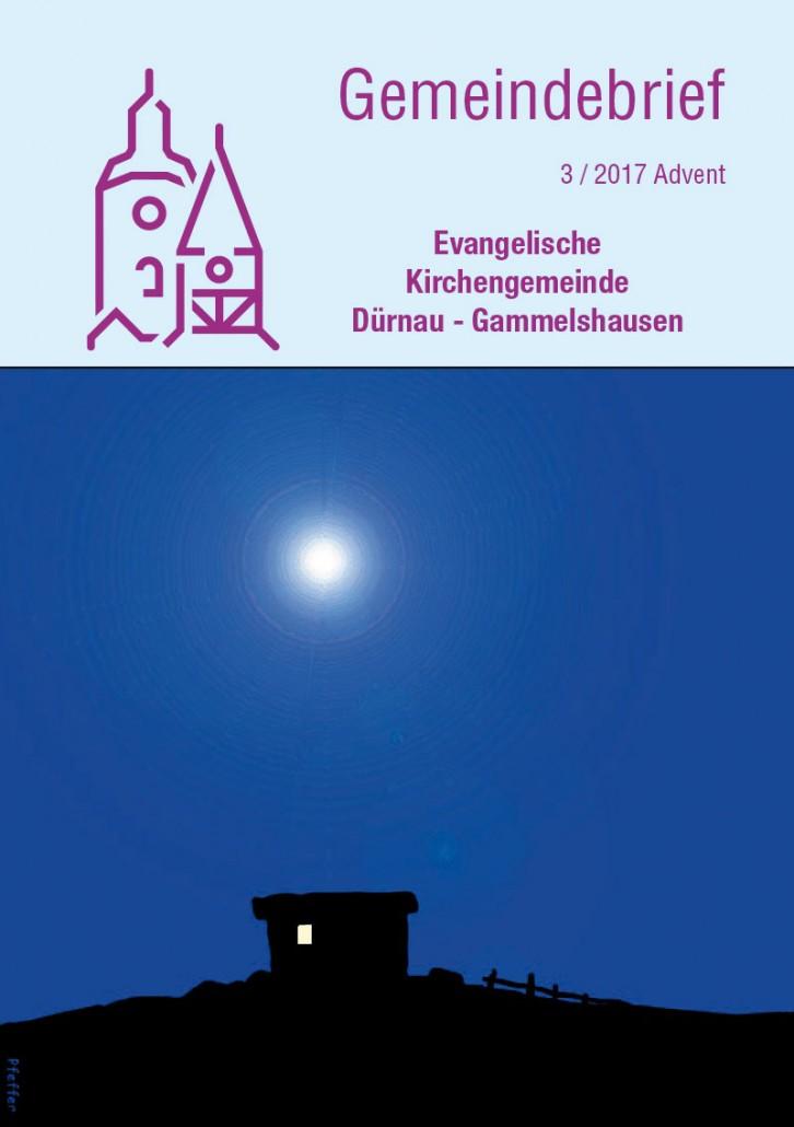 Gemeindebrief 2017-3 Dürnau-Gammelshausen