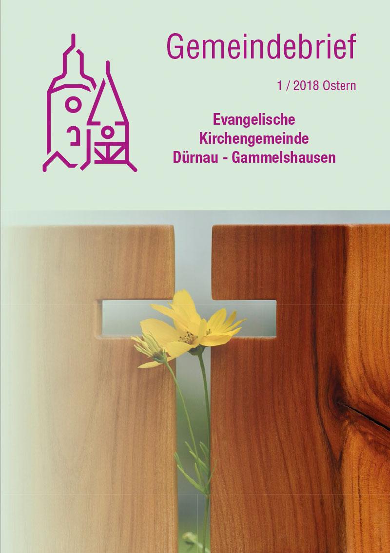 Gemeindebrief 2018-1 Dürnau-Gammelshausen